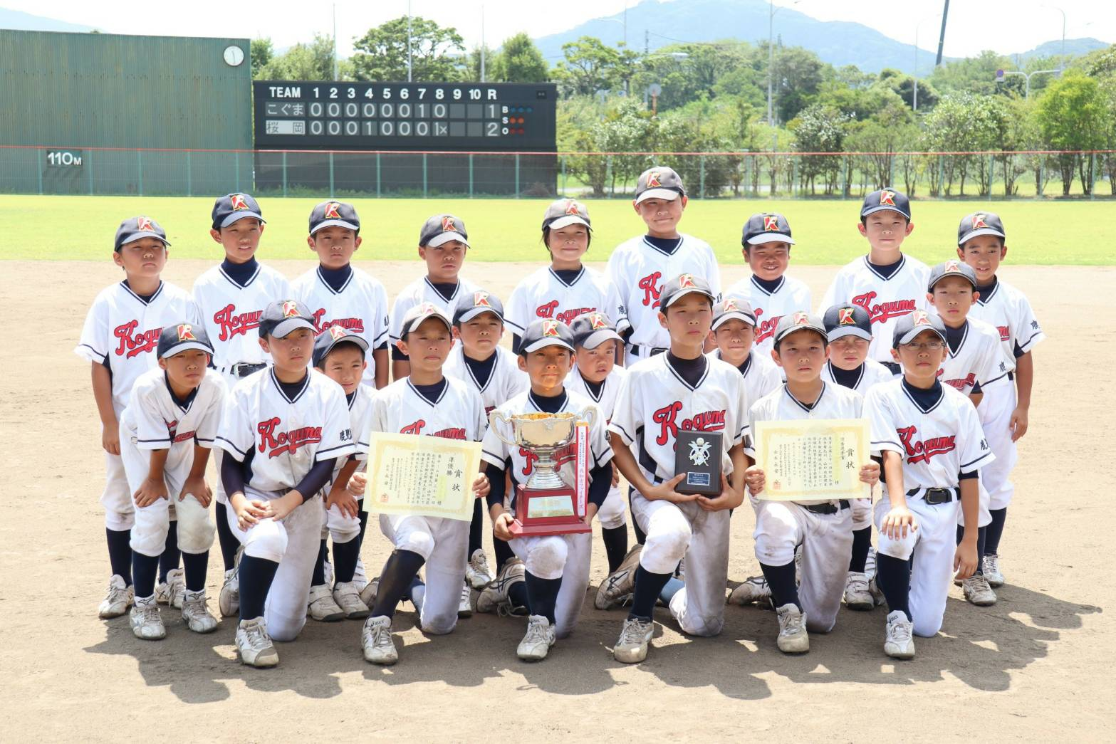 【結果】第31回-虹の松原旗争奪-九州・山口地区親善少年軟式野球大会